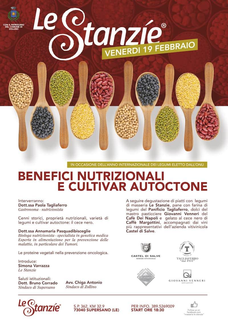 BENEFICI NUTRIZIONALI DEI LEGUMI E CULTIVAR AUTOCTONE